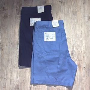 2 Pair Croft & Barrow Linen Blend Shorts